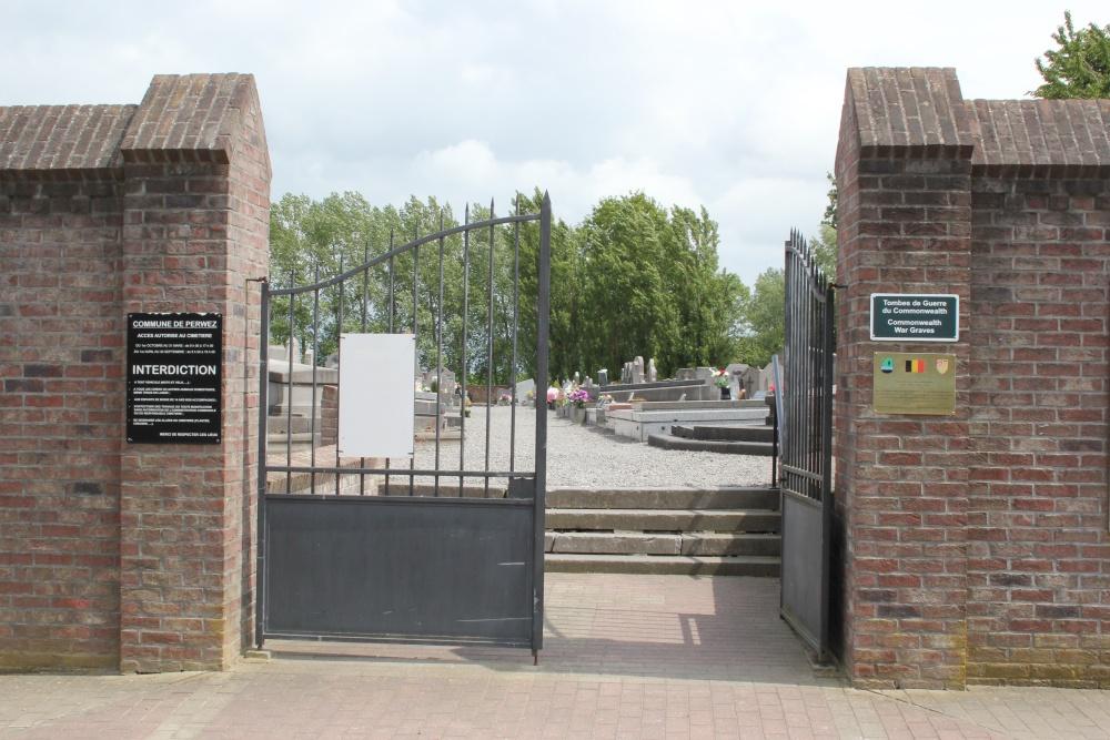 Oorlogsgraven van het Gemenebest Thorembais-St.Trond