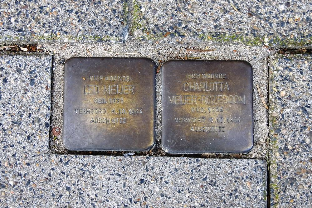 Stumbling Stones Veerplein 15