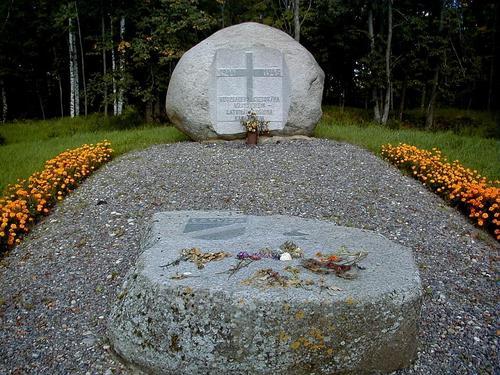 Memorial Latvian Waffen-SS Pienava (B)