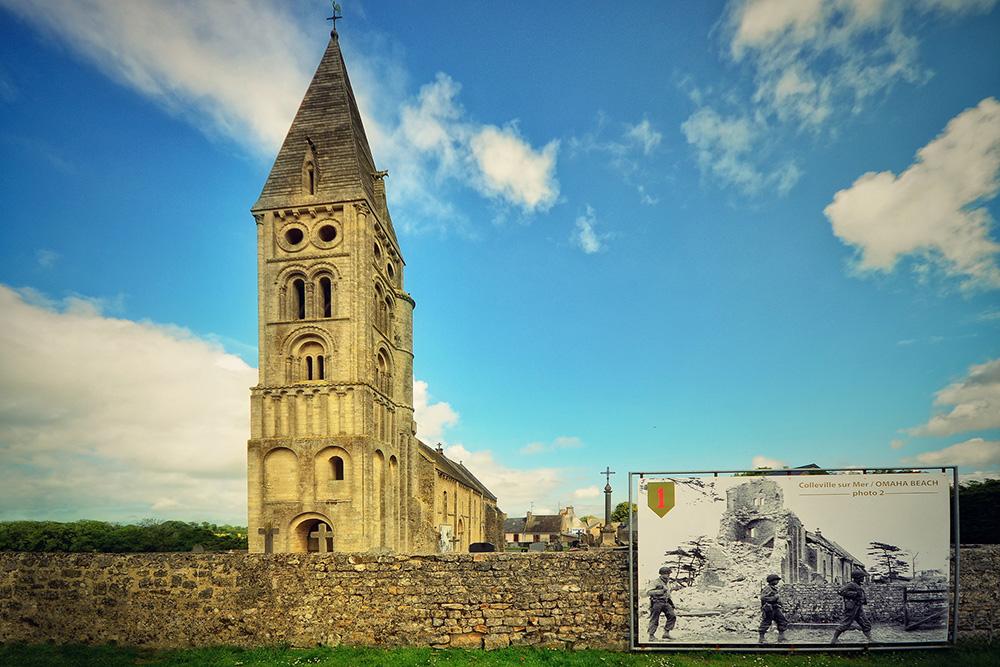 L'église Notre-Dame de l'Assomption de Colleville
