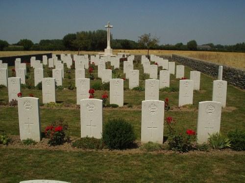 Oorlogsbegraafplaats van het Gemenebest Bertenacre
