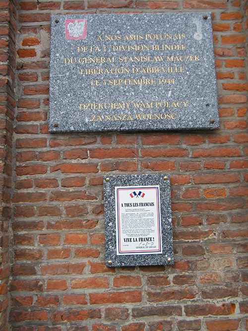 Plaque Liberation Abbeville