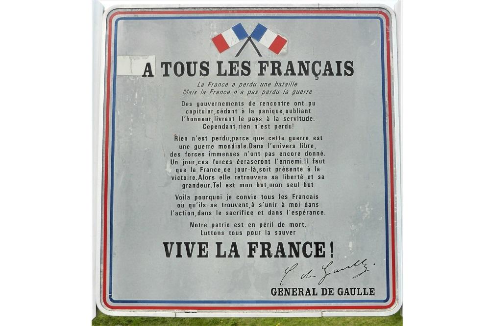 Toespraak De Gaulle