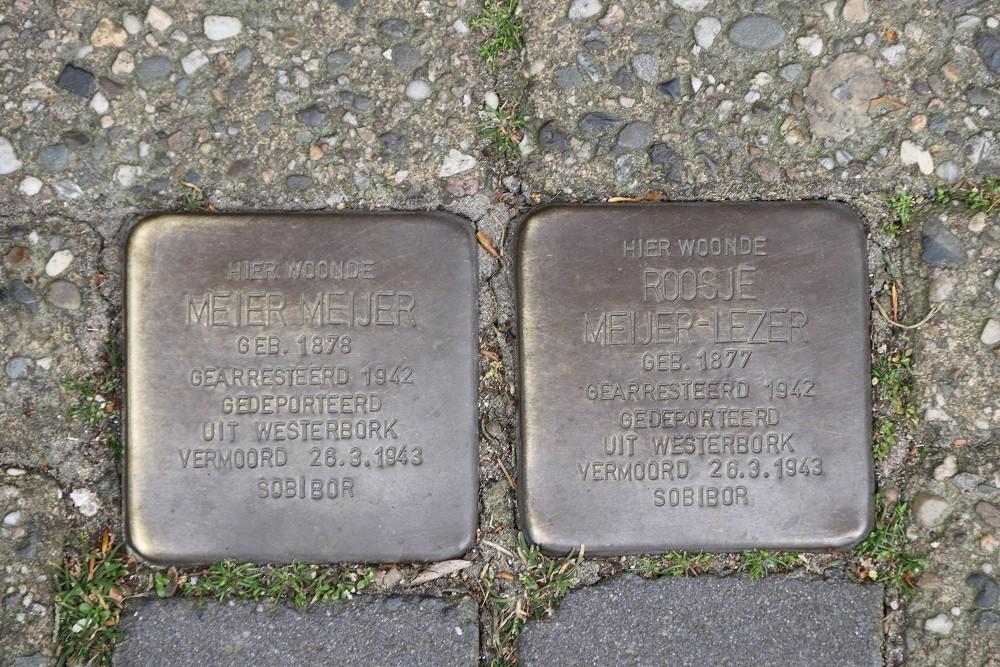 Stumbling Stones A.F. de Savornin Lohmanstraat 6a