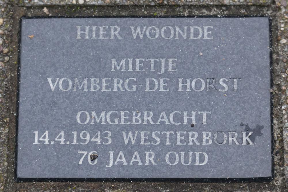 Memorial Stone Kanaalpad 5