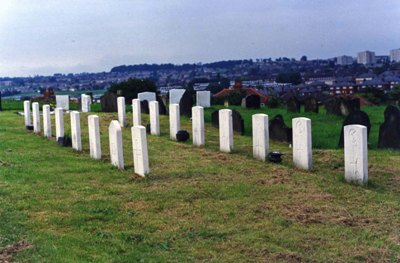 Oorlogsgraven van het Gemenebest Leeds Roman Catholic Cemetery