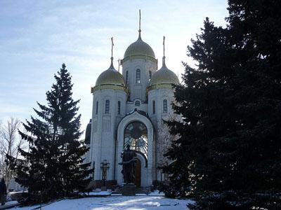 Mamayev Hill - Church of All Saints
