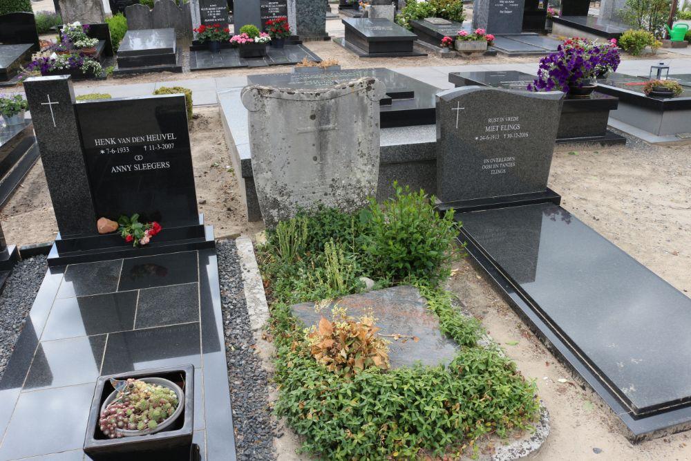 Commemorative Plaque Concentration Camp VictimsRoman Catholic Cemetery Hilvarenbeek