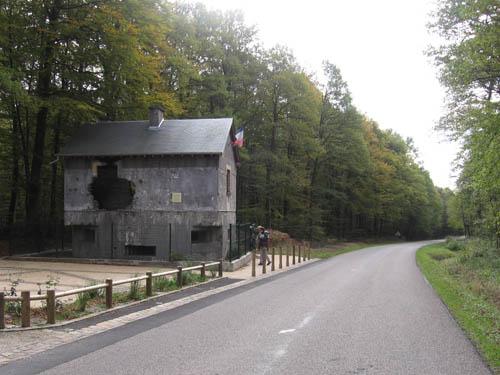 Maginotlinie - Maison Forte (MF10) Saint Menges