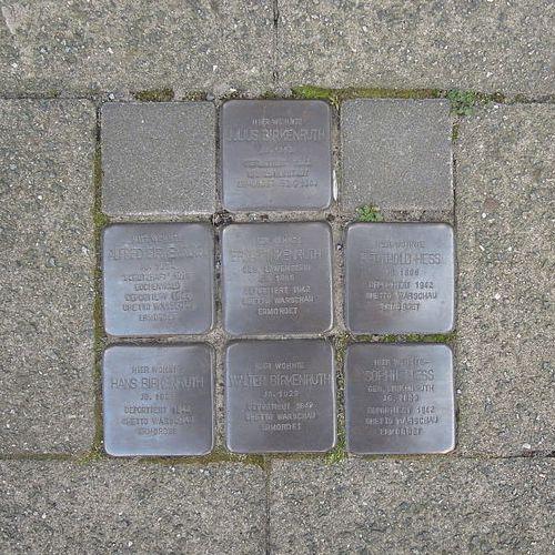 Stolpersteine Hannoversche Straße 8