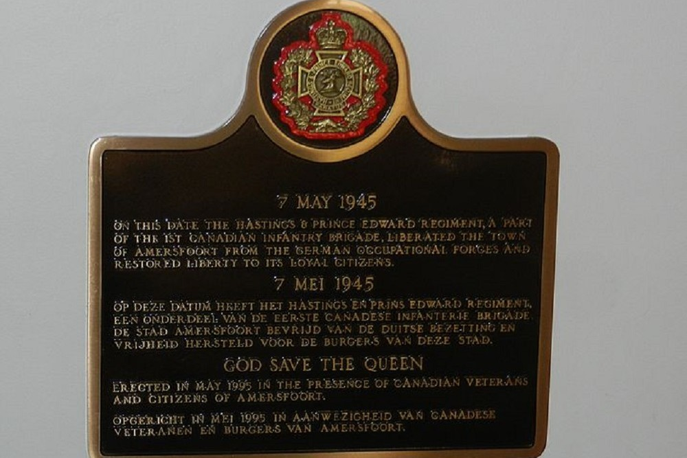 Monument Canadese Militairen Amersfoort