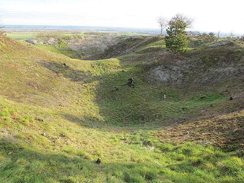 Mine Craters of La Main de Massiges
