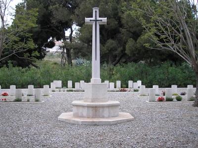 Commonwealth War Cemetery Rhodes