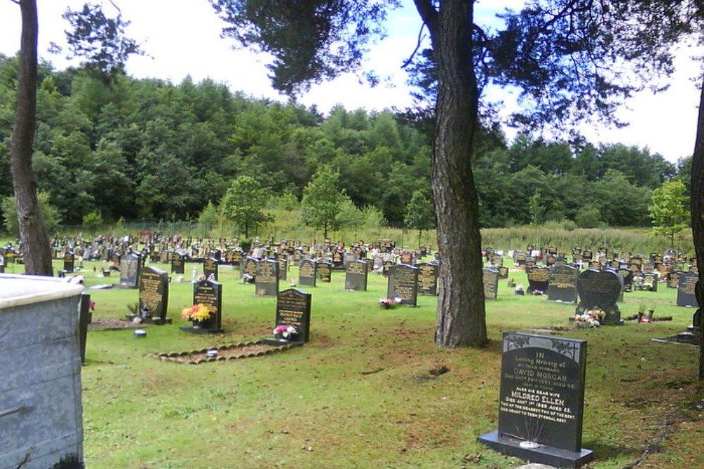 Commonwealth War Graves Ebbw Vale Cemetery