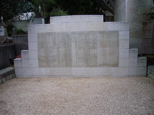 Commonwealth War Grave Beirut Jewish Civil Cemetery