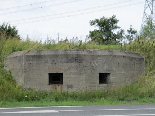 Ned. MG Bunker type Stekelvarken Yerseke bunker 2