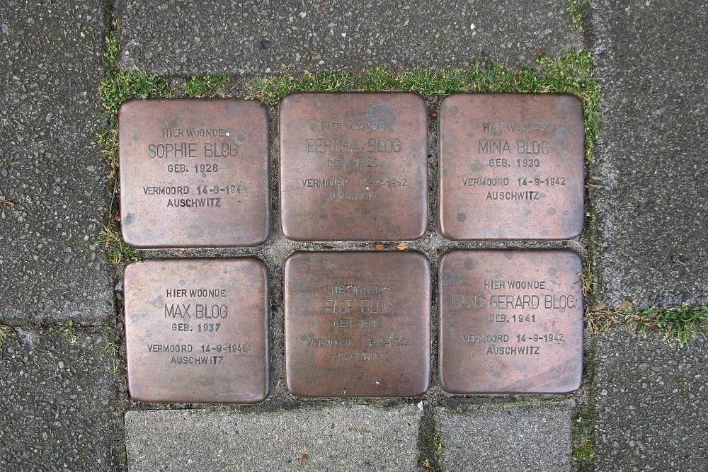 Remembrance Stones Uithoornstraat 11