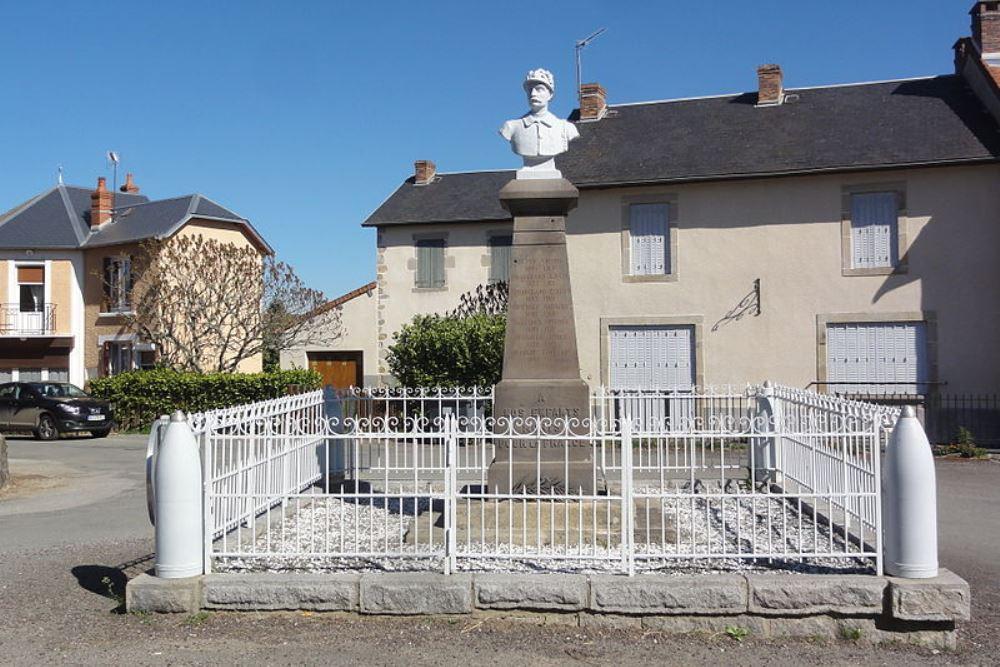 War Memorial Roche-d'Agoux