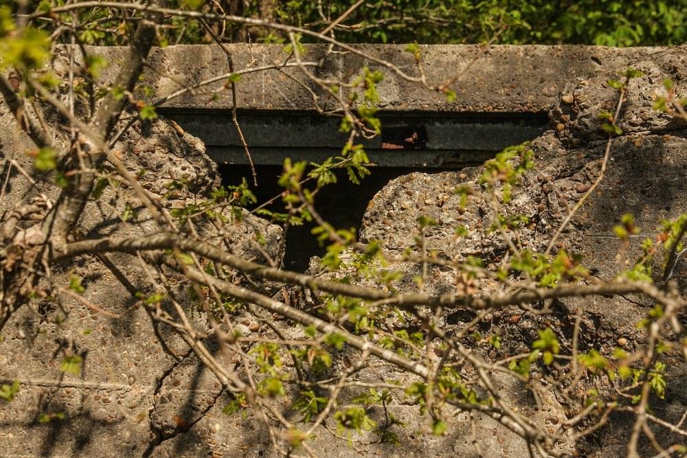 Restant Bunker Vliegveld Gilze Rijen