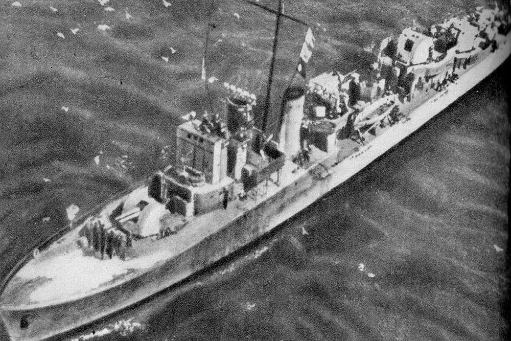 Shipwreck ORP Kujawiak