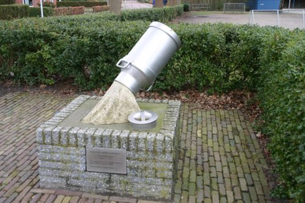Monument Melkstaking 1943