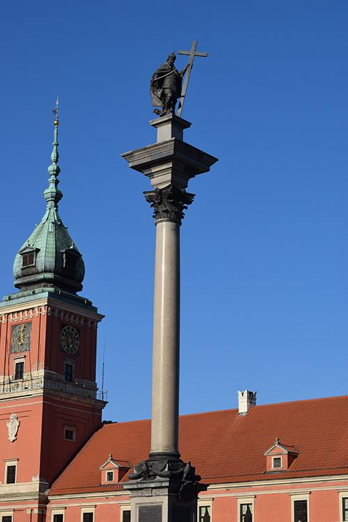 Zygmunt-zuil Warschau
