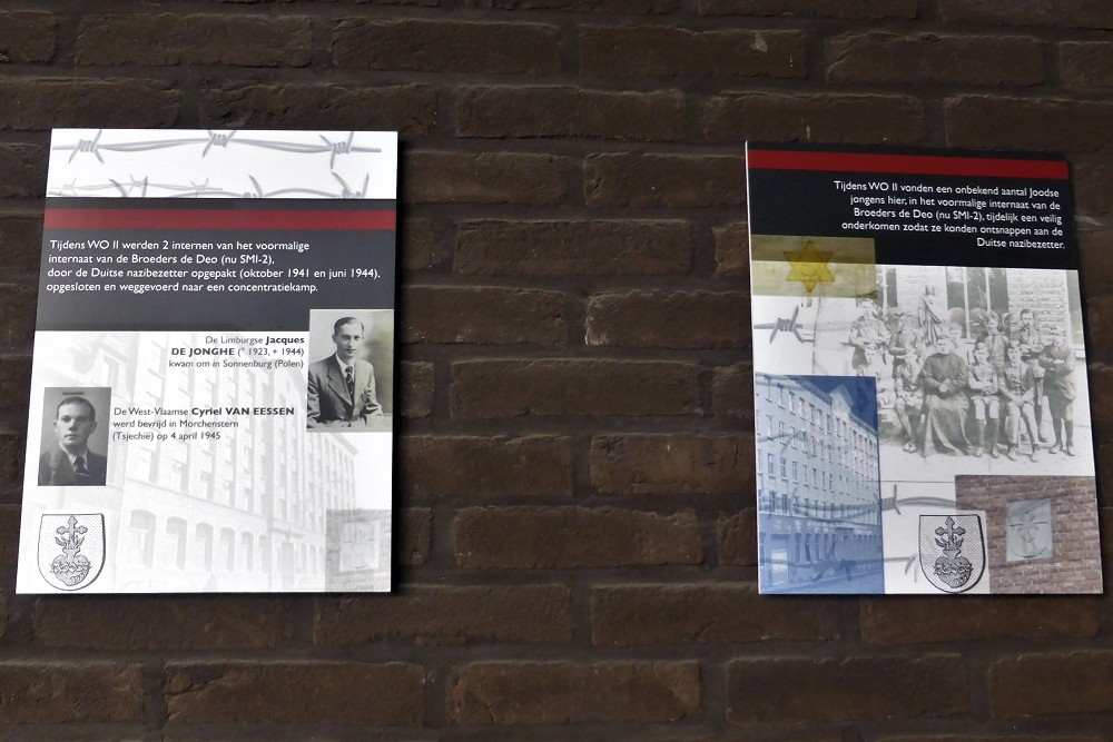 Commemorative Plaques Nazi Victims Aalst