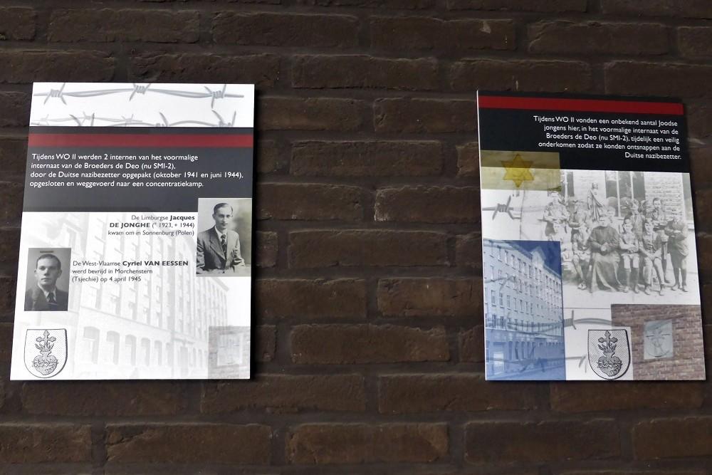 Gedenkplaten Nazi-Slachtoffers Aalst