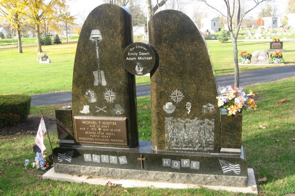 Amerikaans Oorlogsgraf Elm Grove Cemetery