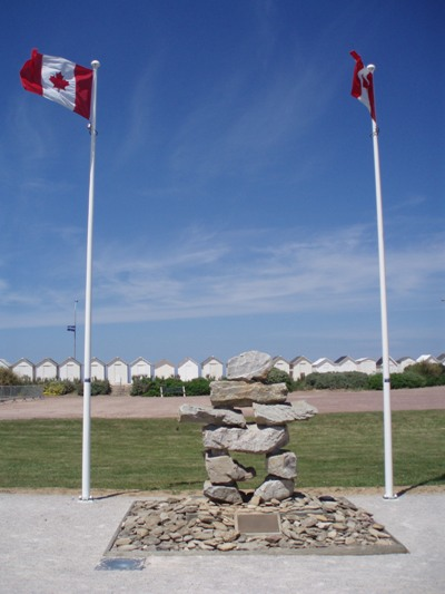 Memorial Inukshuk