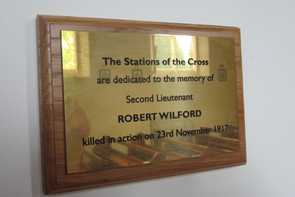 Stations of the Cross Robert Wilford Yarm