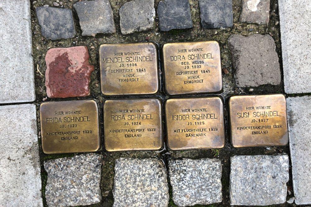 Stumbling Stones Fischerfeldstraße 12