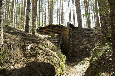 German Trenches Udria