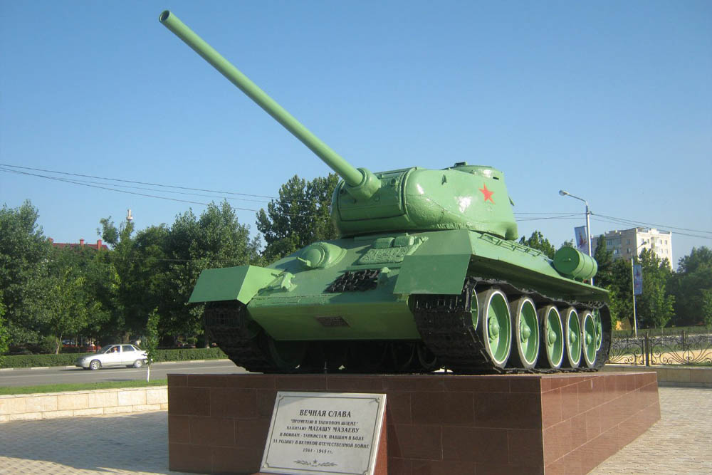 T-34/85 Tank Monument Grozny