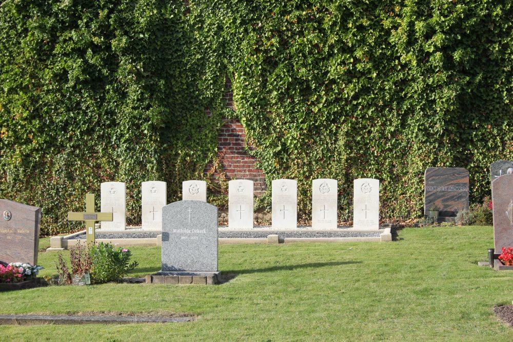 Commonwealth War Graves Overijse (Tombeek)