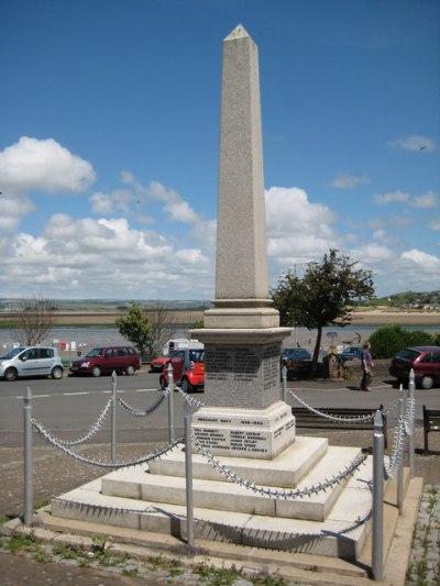 War Memorial Appledore