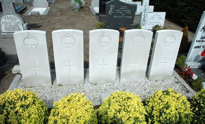 Commonwealth War Graves Roman Catholic Cemetery Eerde