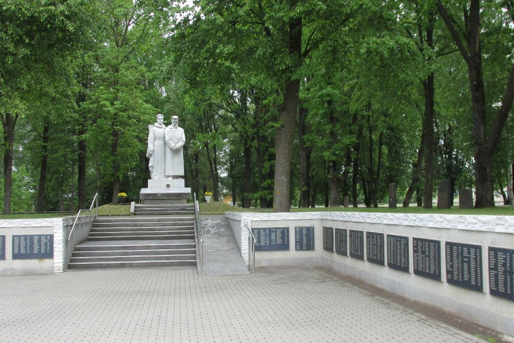 Sovjet Oorlogsbegraafplaats Dobele