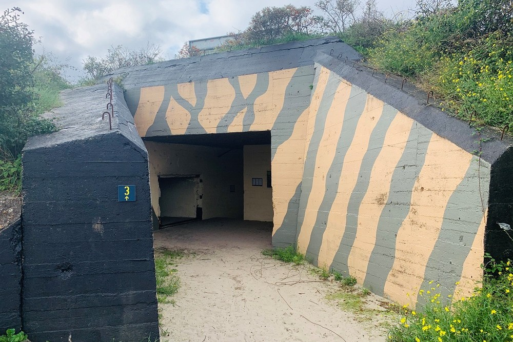 Air Raid Shelter Bunker route no. 3 De Punt Ouddorp
