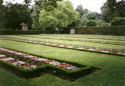 Belgian War Graves Evere
