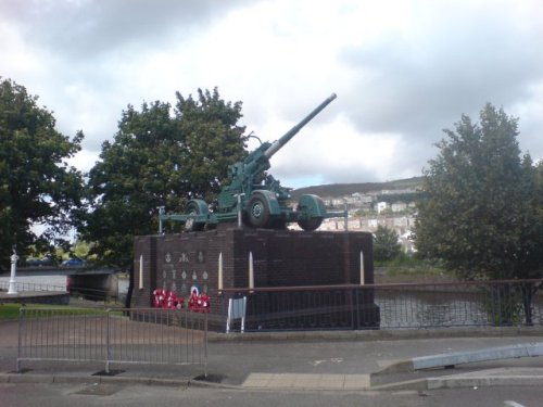 Anti-aircraft Gun Swansea