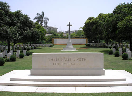 Commonwealth War Cemetery Karachi
