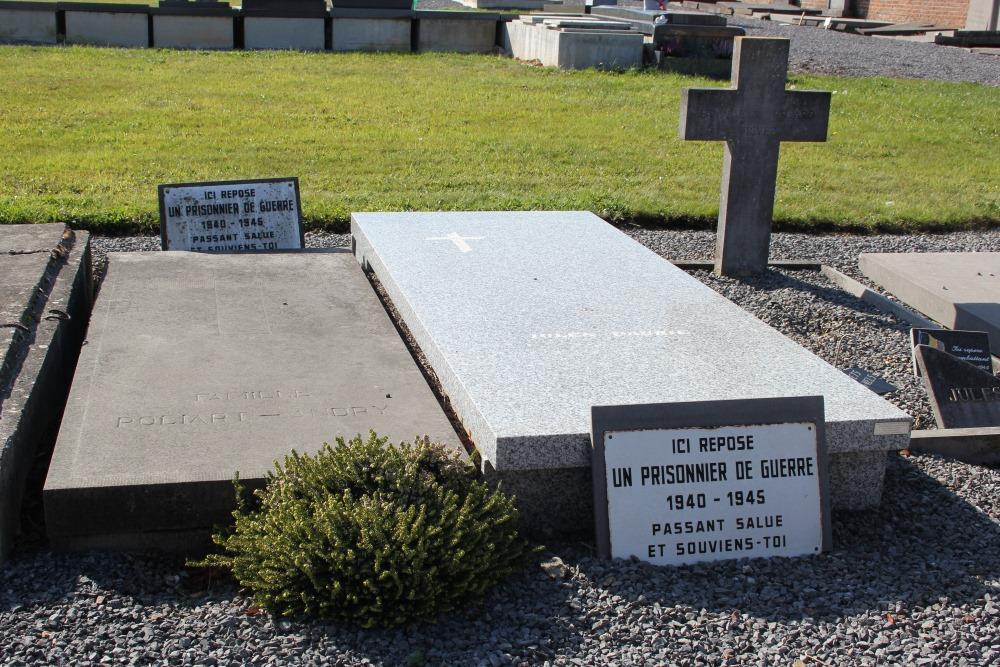 Veteran War Graves Chaussée-Notre-Dame-Louvignies