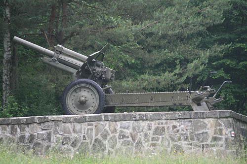 122mm M1938 Howitzr Vyšný Komárnik