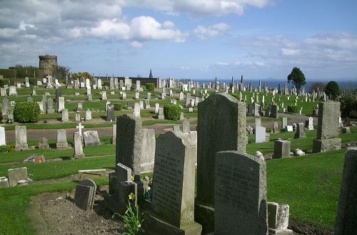 Commonwealth War Graves Dysart Cemetery