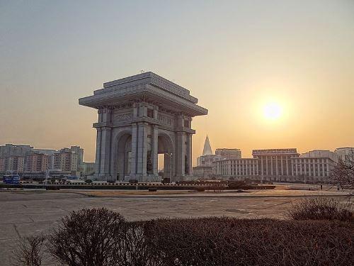 Triomfboog Pyongyang