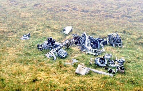 Crashlocatie & Restant Bristol Beaufighter Gevechtsvliegtuig St. Kilda