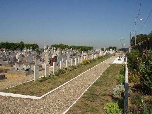 Commonwealth War Graves Villeneuve-Saint-Georges Old