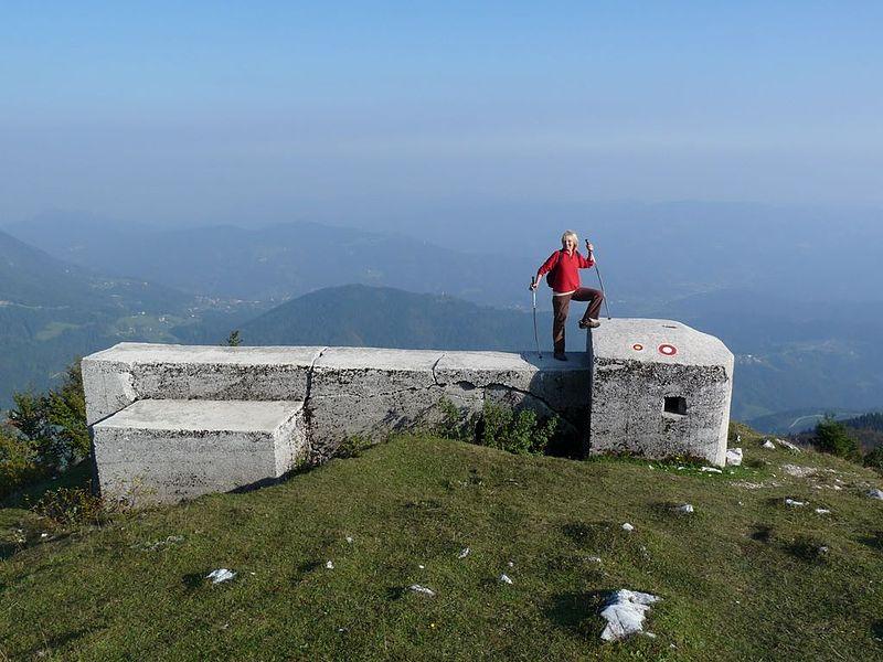 Yugoslav Bunker Blegoš Mountain