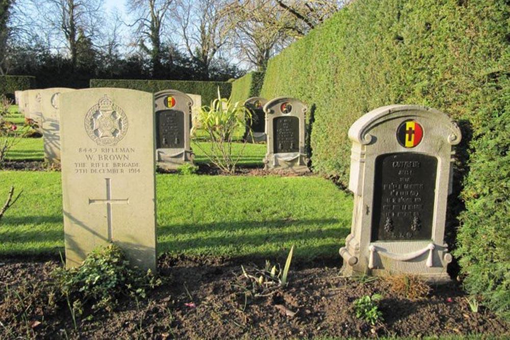 Belgische Oorlogsgraven Oxford-Botley